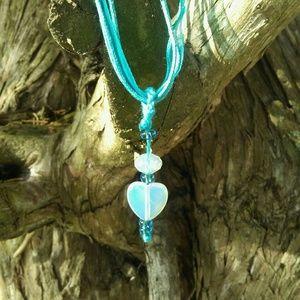 Jewelry - Moonstone Ribbon Necklace
